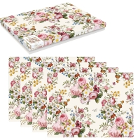Cork placemats - Blooming Opulence