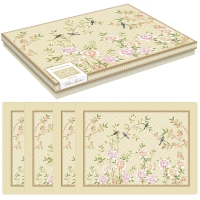 Manteles de corcho - Palace Garden floral