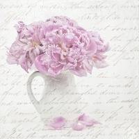 Serwetki 33x33 cm - Flowers in Mug