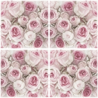 Serwetki 33x33 cm - Decoupage Roses