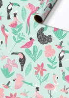 Metallized gift wrapping paper - Kaena
