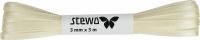 Double satin ribbon - Satin Strän 3mm