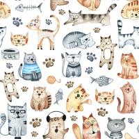Servilletas 33x33 cm - Pet Cats