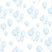 Napkins 33x33 cm - Petit Ballons bleu