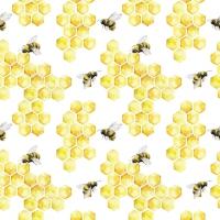 Servilletas 33x33 cm - Honey Bees