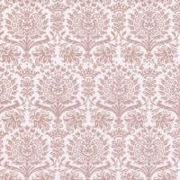 Napkins 33x33 cm - Fine Damask shiny rosé