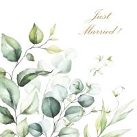 Servilletas 33x33 cm - Romantic Marriage