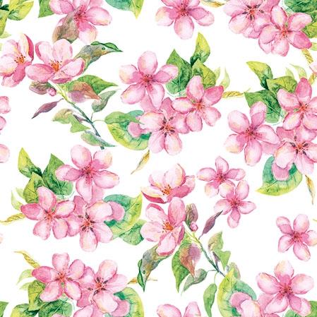 Napkins 25x25 cm - Cherry Blossom Rose