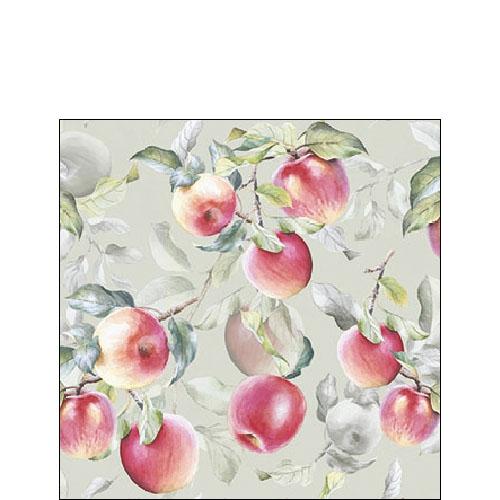 Servilletas 25x25 cm - Fresh Apples Green