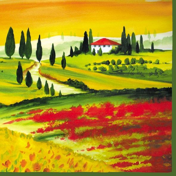 Servilletas 33x33 cm - Toscana