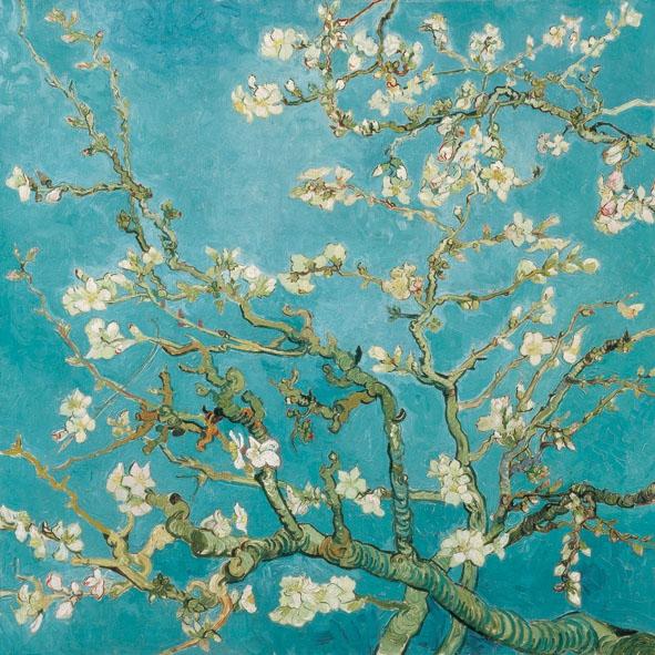 Napkins 33x33 cm - Almond Blossom