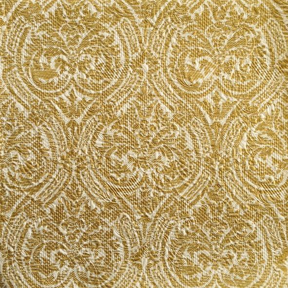 Servilletas 33x33 cm - Elegance Stencil Gold
