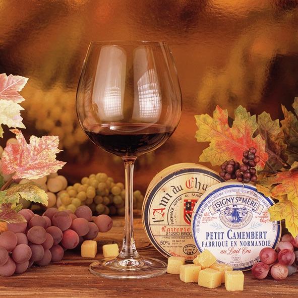 Servilletas 33x33 cm - Fromage Et Vin