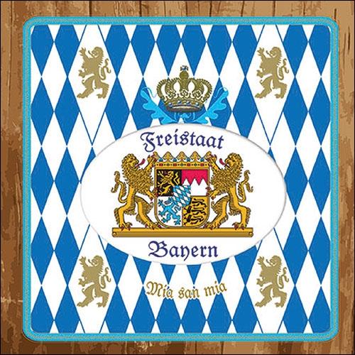 Servilletas 33x33 cm - Freistaat Bayern