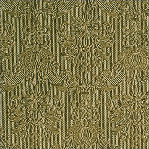 Napkins 33x33 cm - Elegance Olive Green