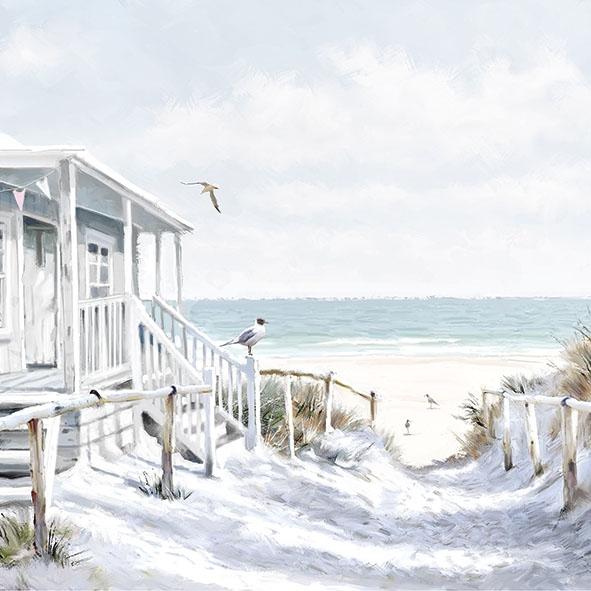 Servilletas 33x33 cm - Beach Cabin