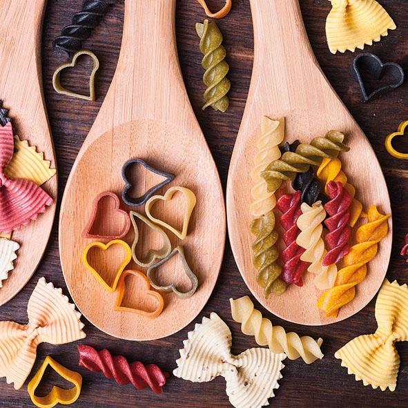 Napkins 33x33 cm - Colourful Pasta