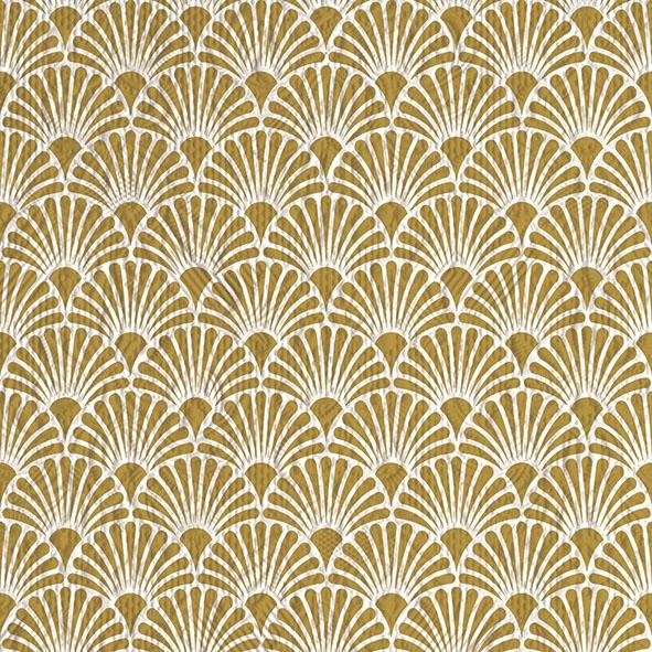 Napkins 33x33 cm - Elegance Art Deco Gold