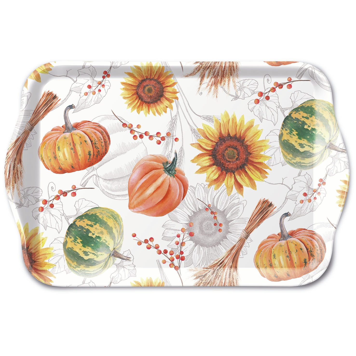 bandeja - Pumpkins & Sunflowers