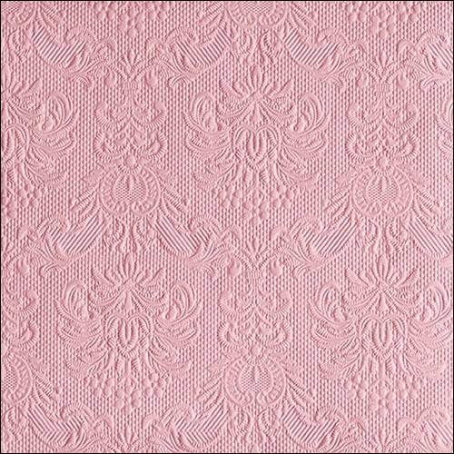 Serviettes 40x40 cm - Elegance Pastel Rose