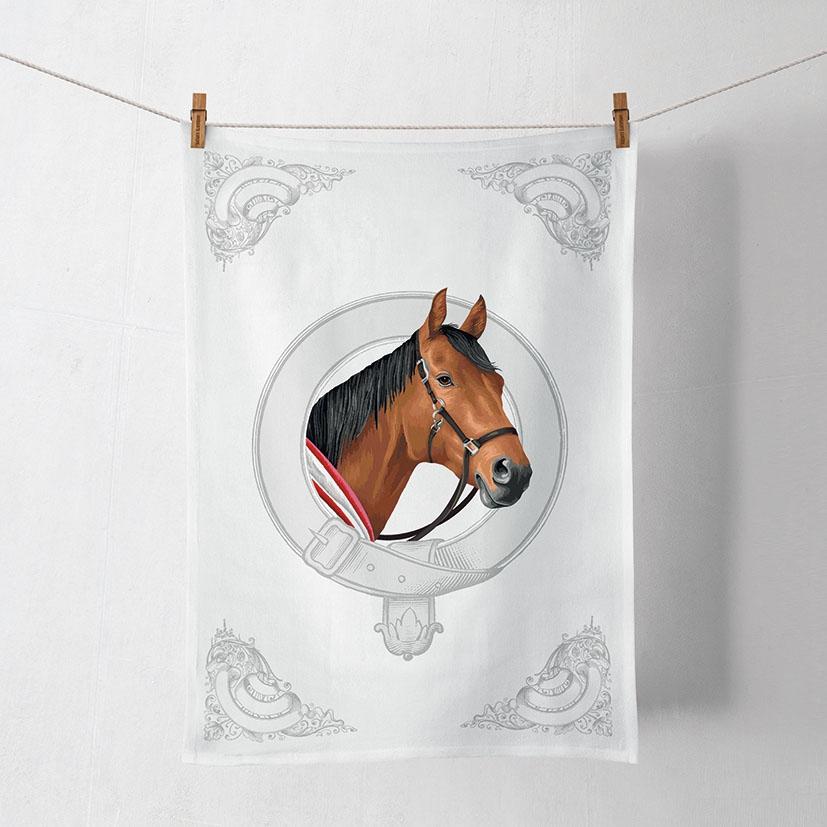 Kitchen towel - Classic Horse