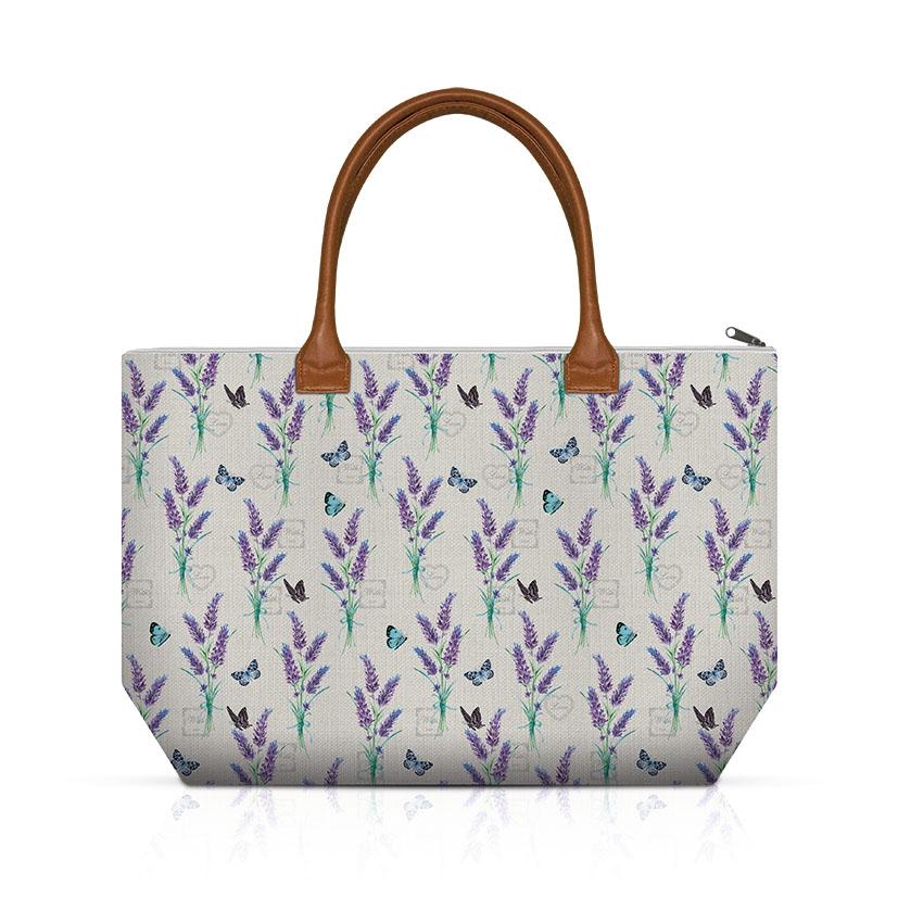 Handtasche - Lavender With Love Cream