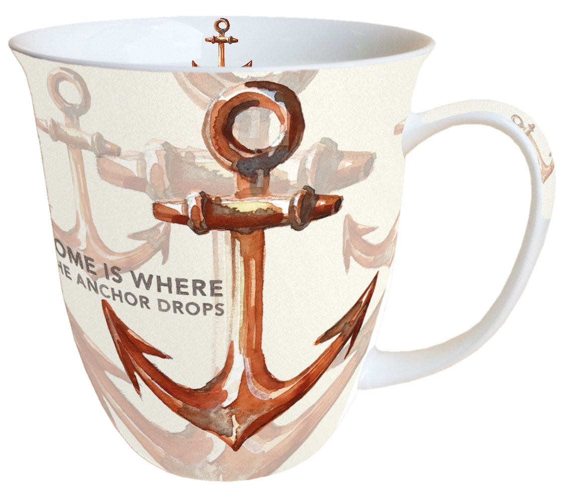 Puchar Porcelany - Rusty Anchor