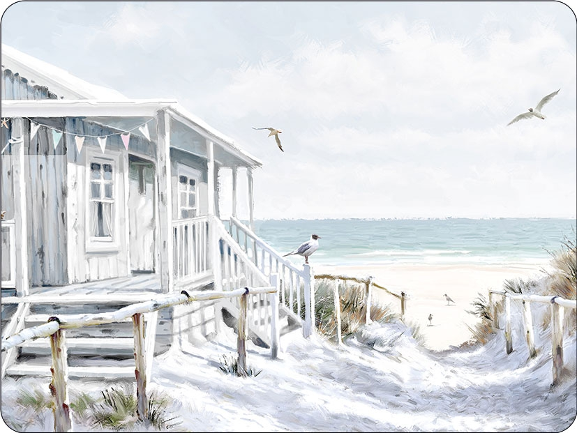 manteles individuales - Beach Cabin
