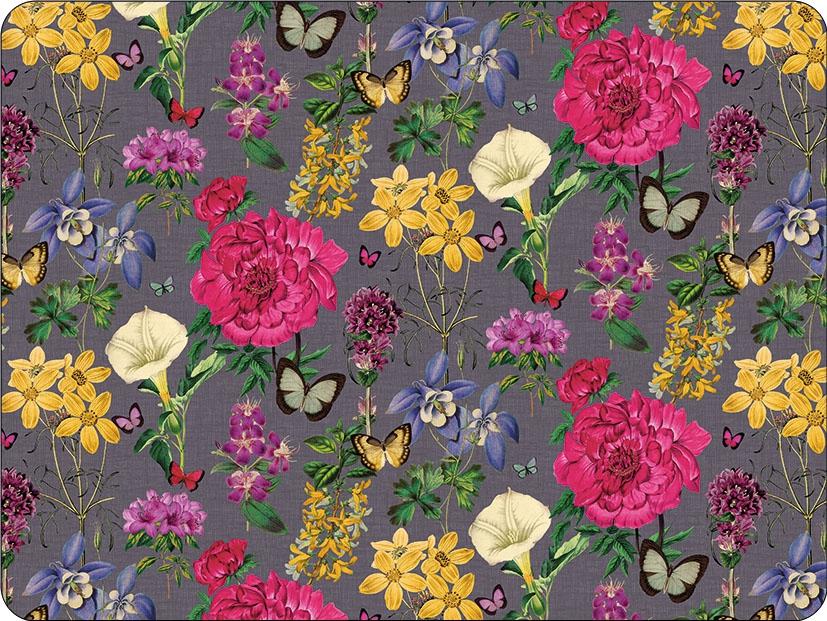 podkładki - Botanical Florals Grey