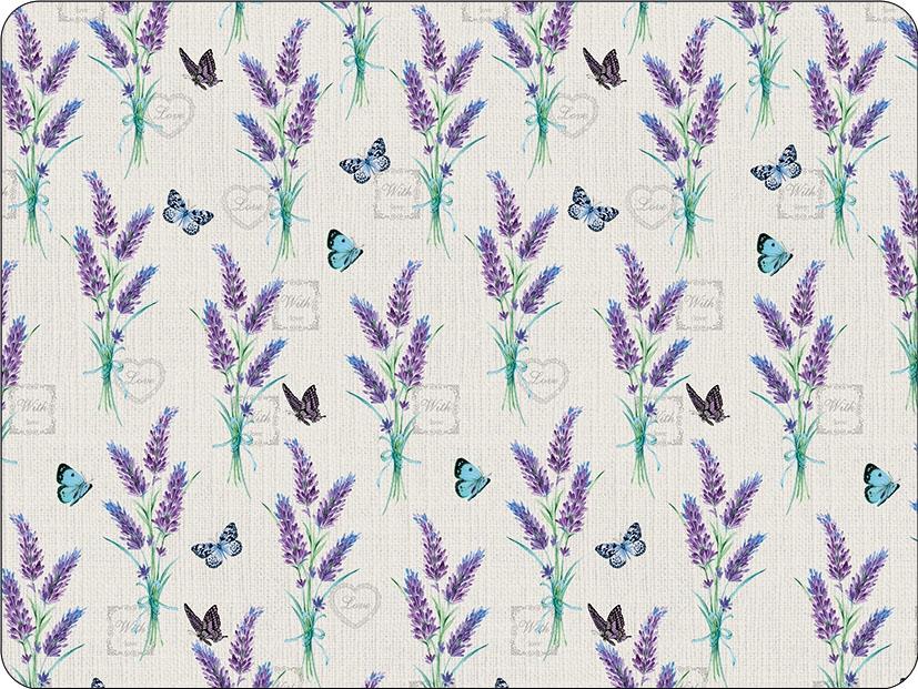 podkładki - Lavender With Love Cream