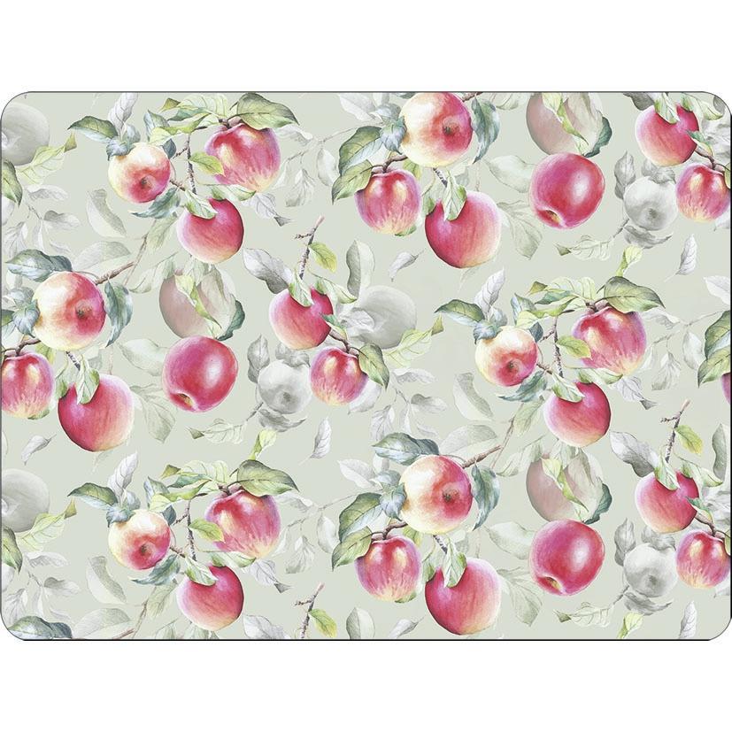 Tischsets -   Fresh Apples Green