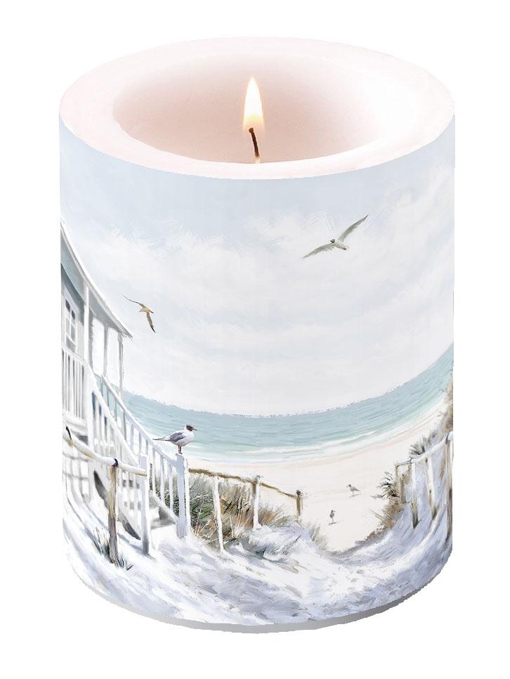 decorative candle - Beach Cabin