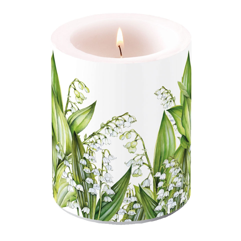 decorative candle - Sweet Lily