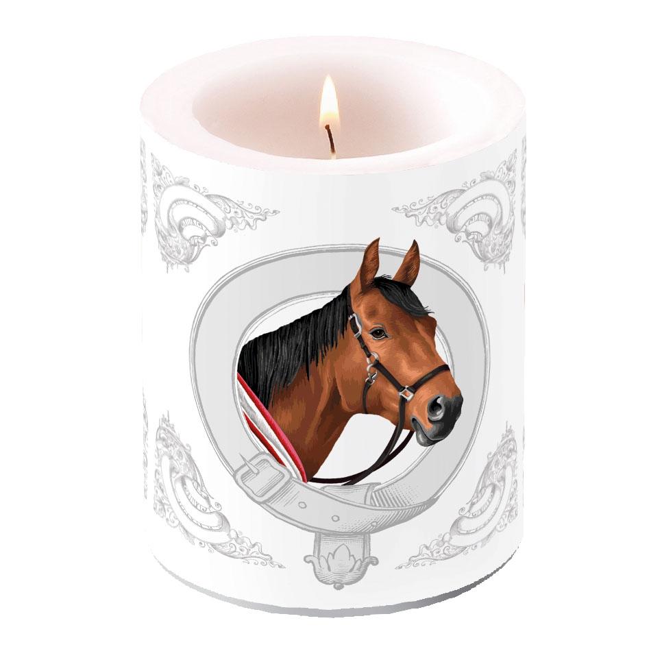 vela decorativa - Classic Horse