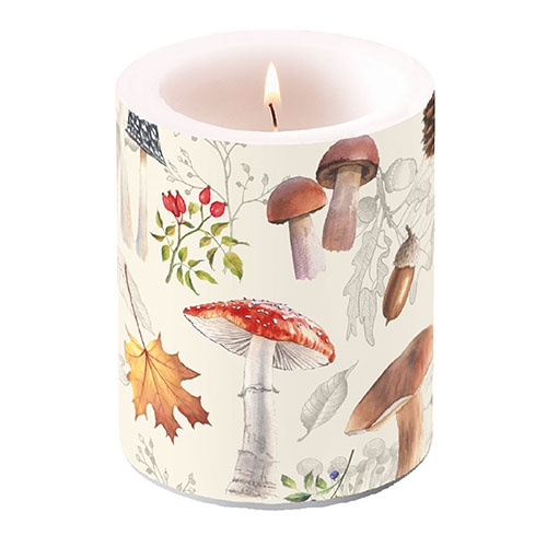 decorative candle - Autumn Nature