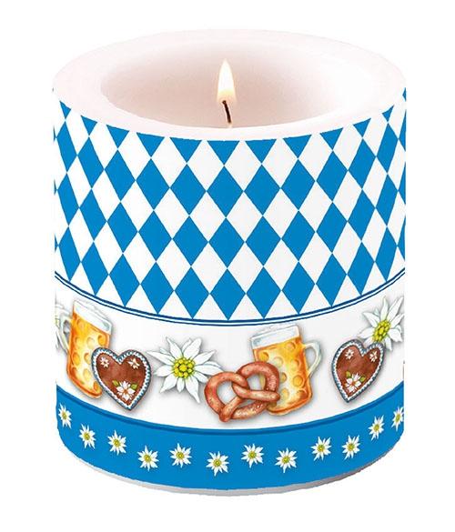 Bougie décorative petite - Oktoberfest