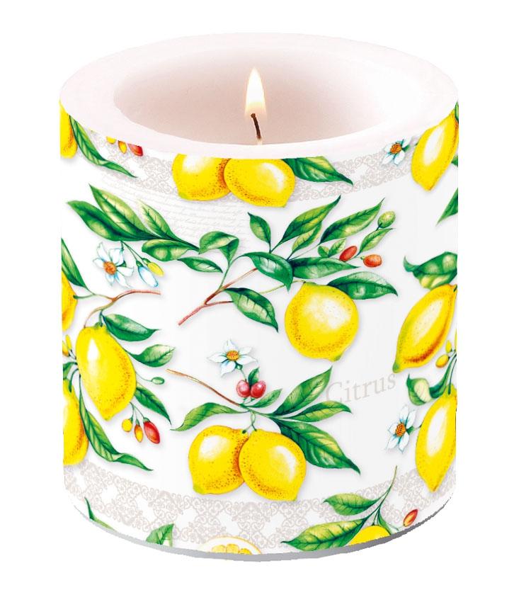 Decorative candle small - Citrus