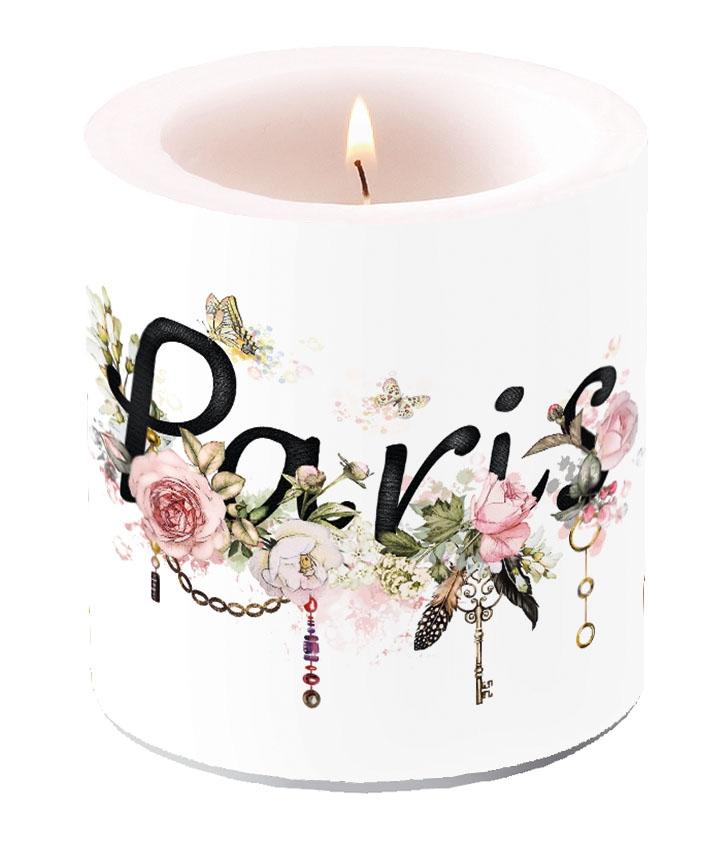 Decorative candle small - Paris