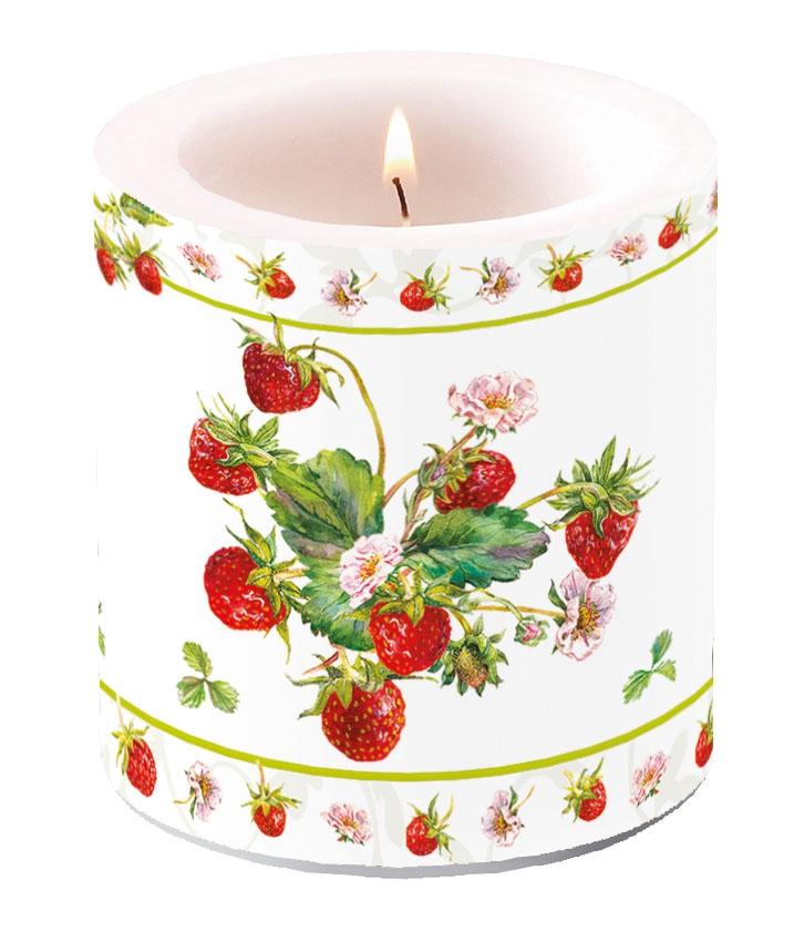 Candela decorativa piccola - Fresh Strawberries