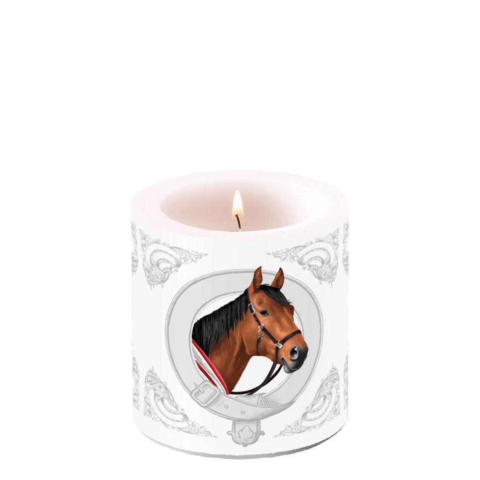 Vela decorativa pequeña - Classic Horse