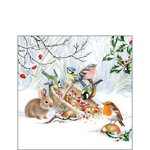 Napkins 25x25 cm - Winter Treat