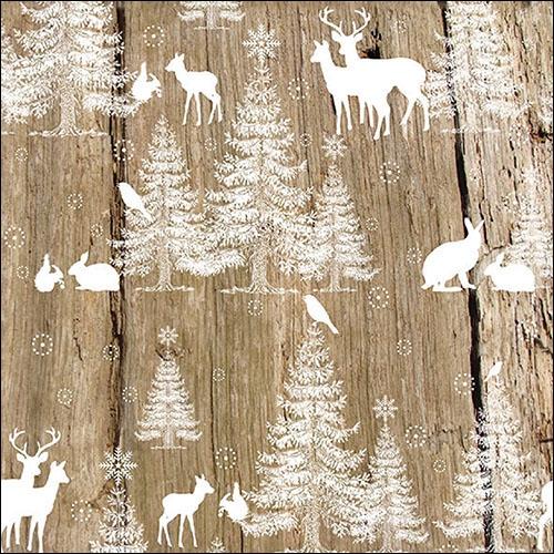 Servilletas 33x33 cm - In The Woods