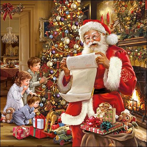 Servilletas 33x33 cm - Christmas Eve