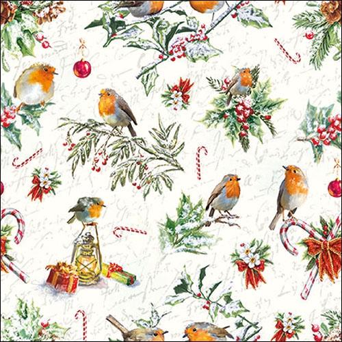 Servilletas 33x33 cm - Christmas Ornaments