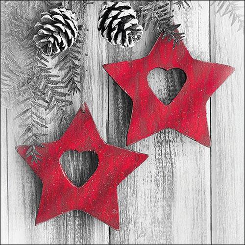 Napkins 33x33 cm - Hanging Stars