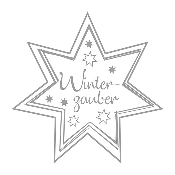 Napkins 33x33 cm - Winterzauber Silver/White