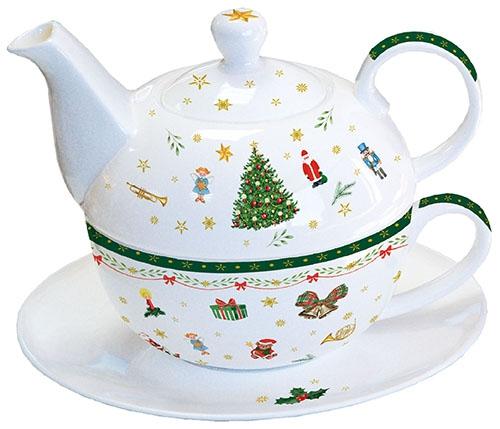Té 4 Uno - Christmas Evergreen White