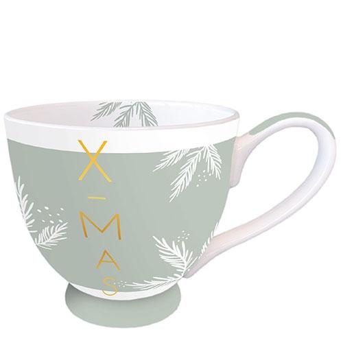 Tazza di porcellana -  X-Mas Green
