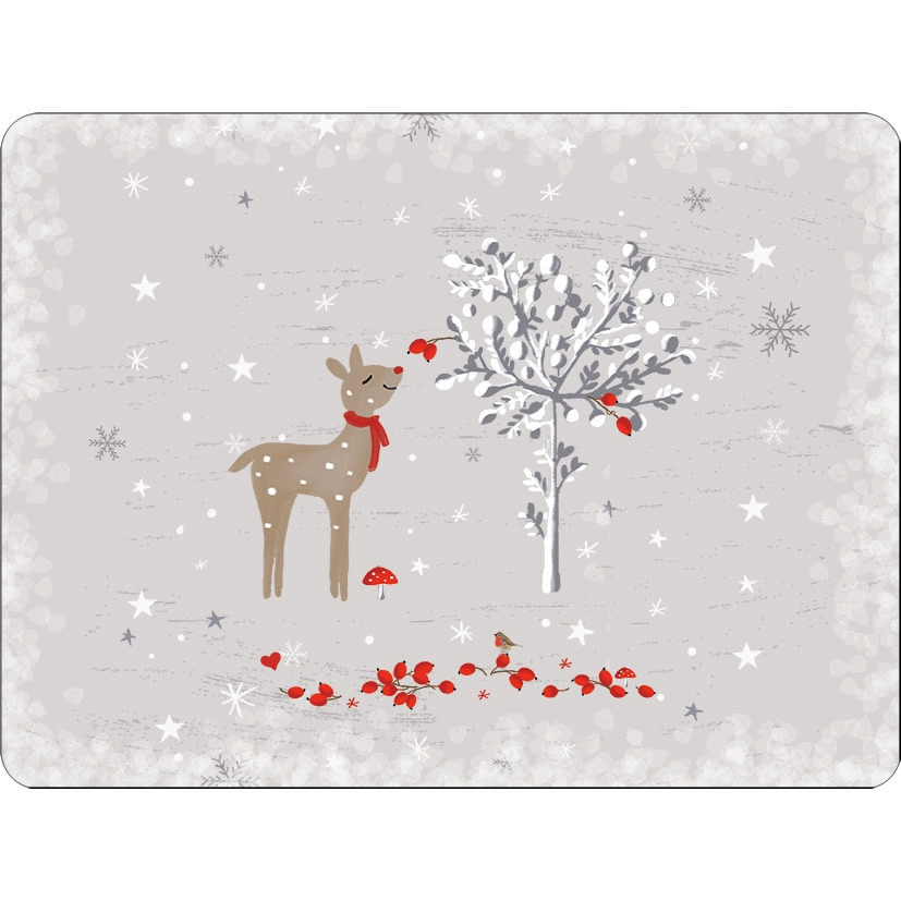placemats - Sniffing Deer