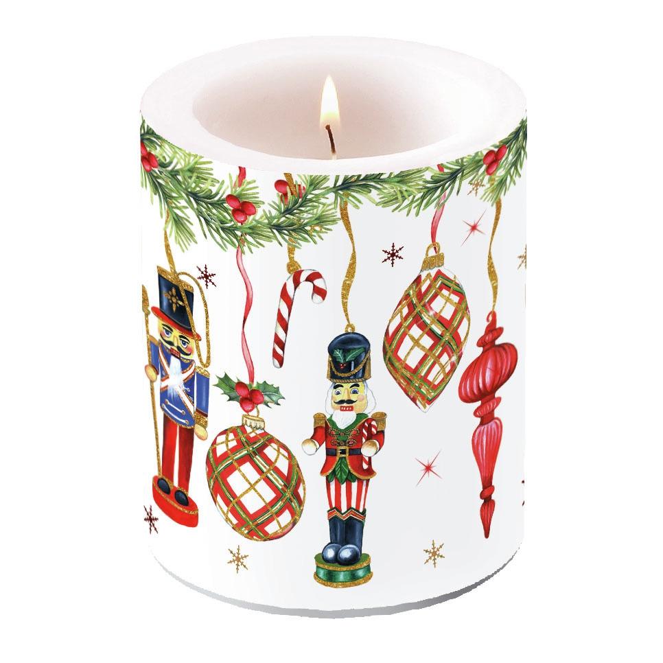 decorative candle - Nutcrackers Decoration